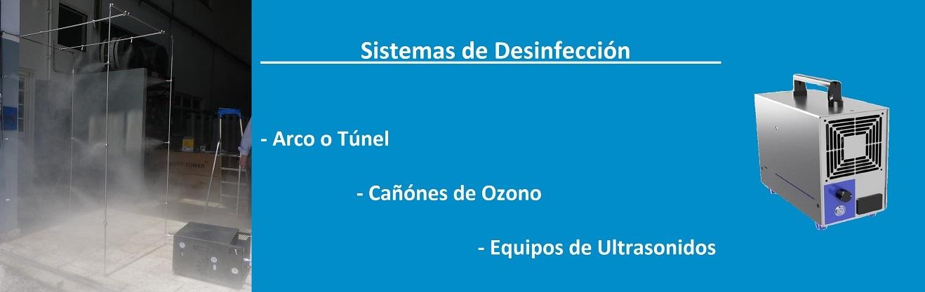 Sistemas de desinfección